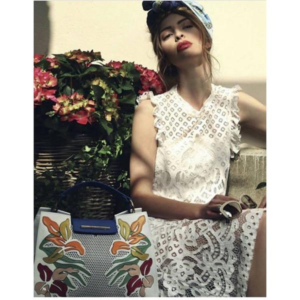 Платье италия кружевное