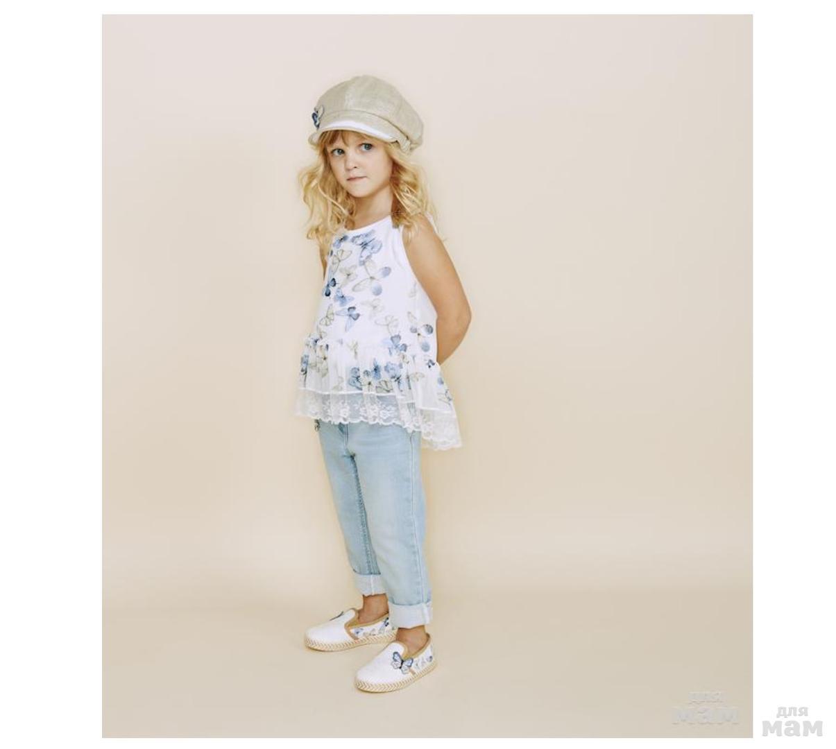 Мода для девочек 4 5 лет
