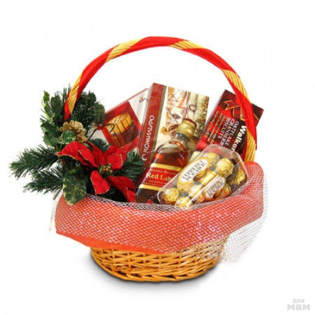 Как оформить подарочную корзину мастер класс