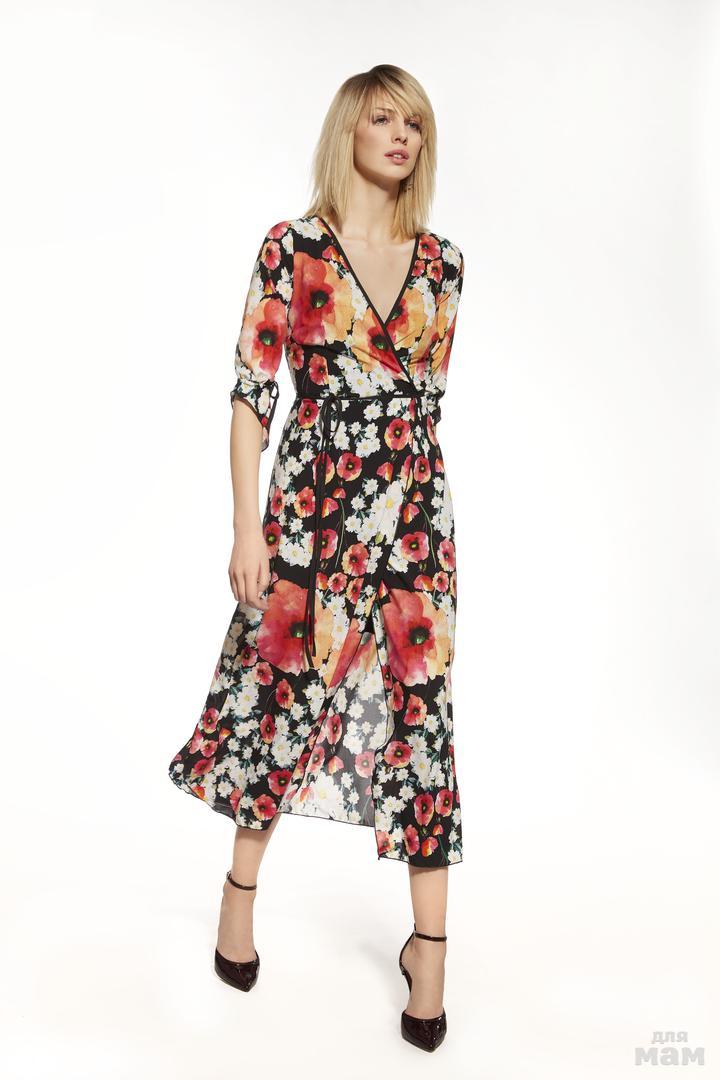 Платье 75%polyester, 25%viscose