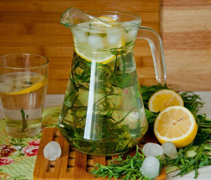 Как сделать лимонад тархун в домашних условиях