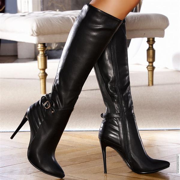 женские ножки в сапогах фото