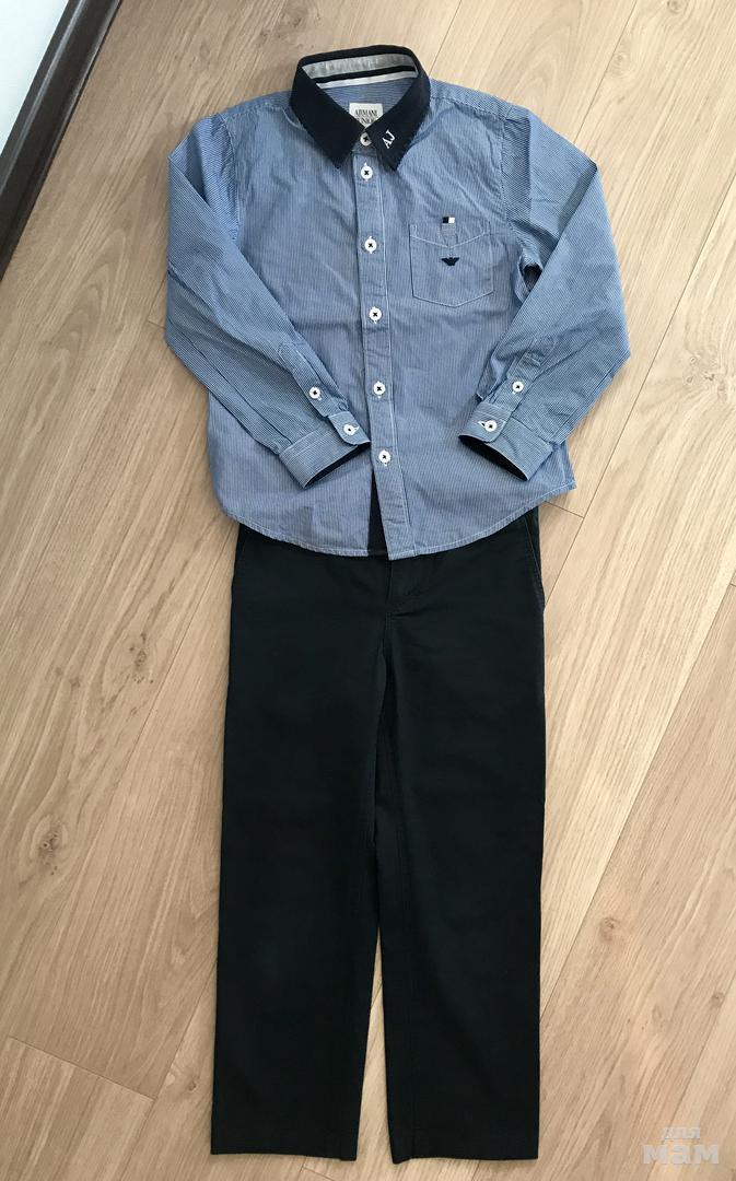 Рубашка Armani 5(112),брюки Boss 6(114) Оригинал. в дневнике ... 1a09836c8b6