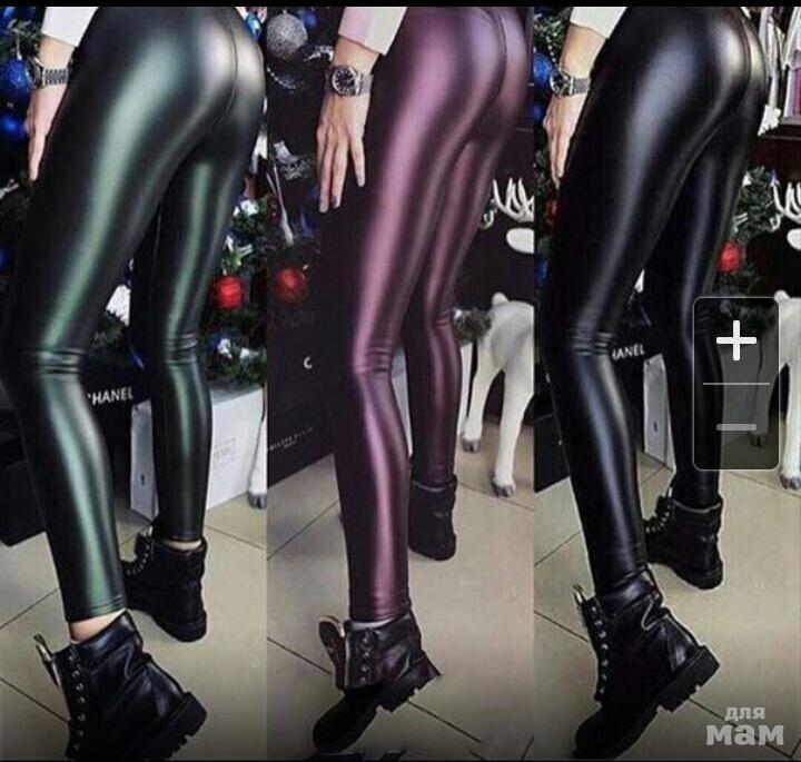 a87fd3b5cf5bb Черные лосины/леггинсы под кожу, утепленные | Одежда | Женщинам ...