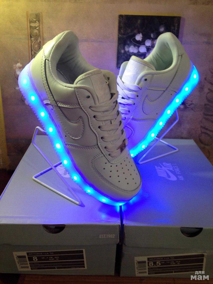 3b53a7cb Кроссовки: Adidas, Nike, Reebok -светящиеся с LED подсветкой   Обувь ...