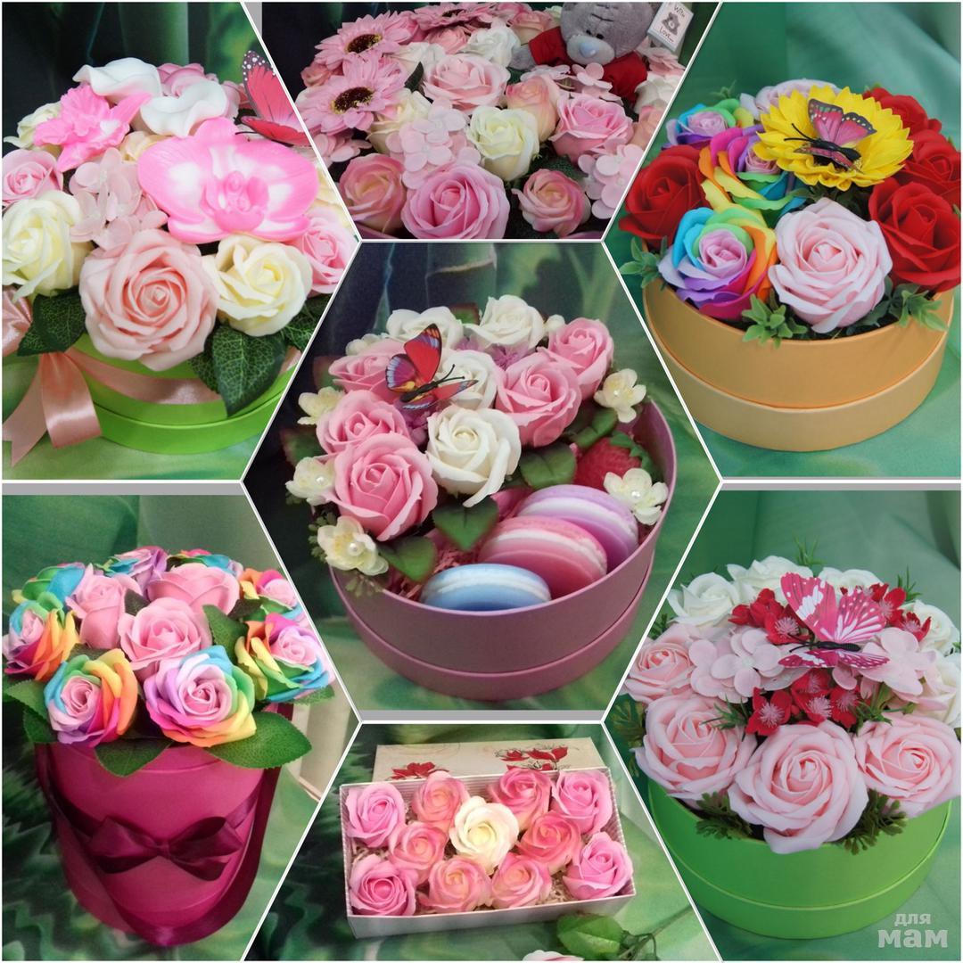 Цветы из мыла своими руками фото фото 151
