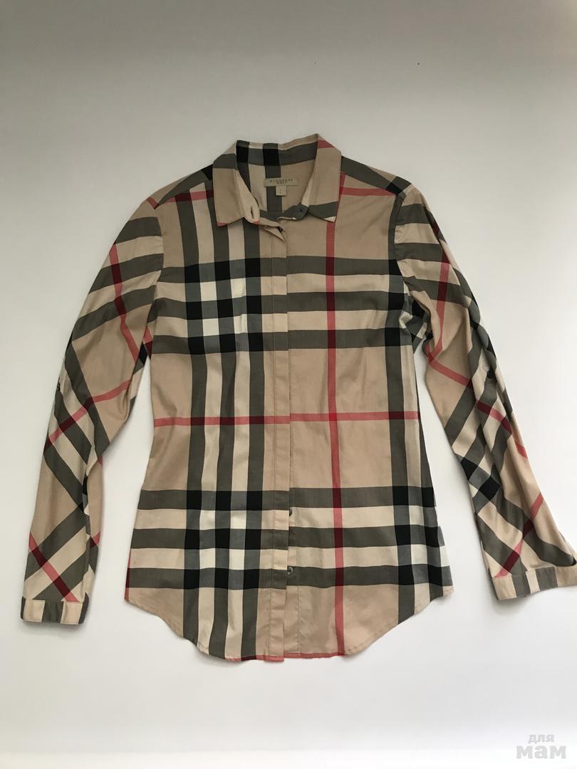 рубашка в оригинальную клетку Burberry от 7000 руб.   Бутик взрослый ... 15d74816629