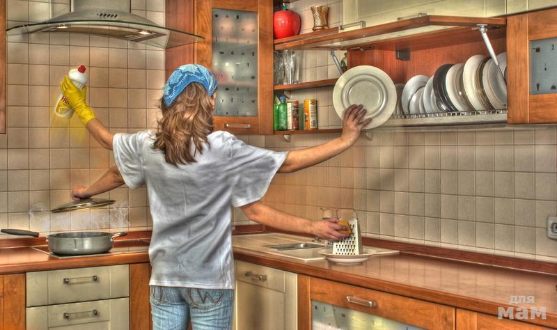 Открытки уборка готовка, фото