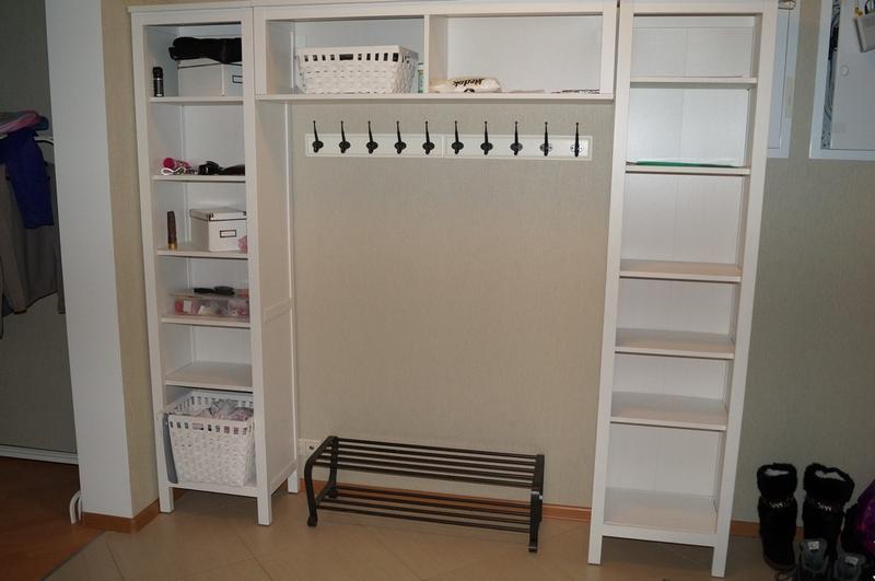 прихожая икеа хемнэс белая мебель для дома и дачи ярмарка