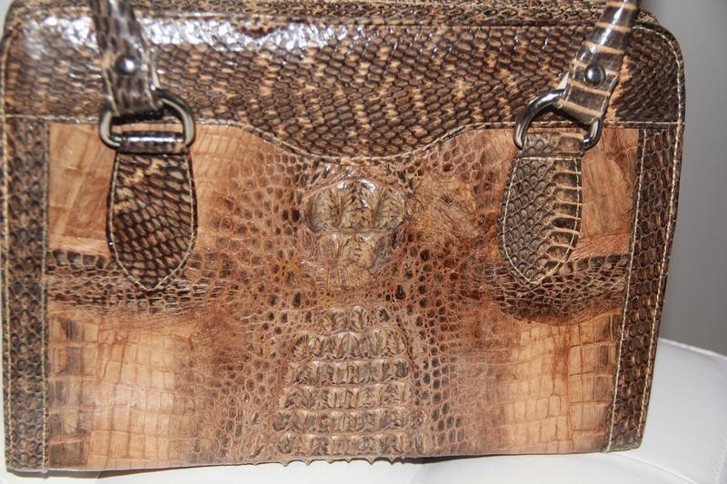 Рынок дорогих сумок из натуральной кожи крокодила