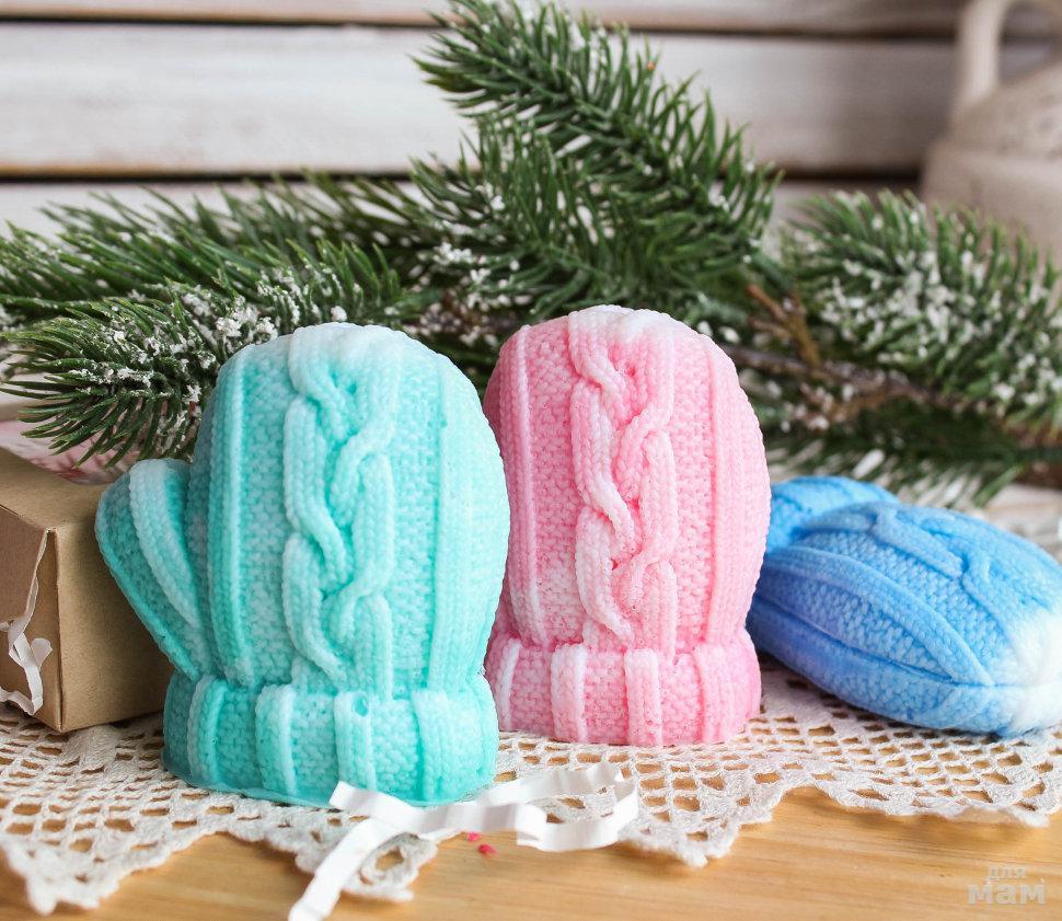 цветовая гамма фото мыла ручной работы новогоднее жилет