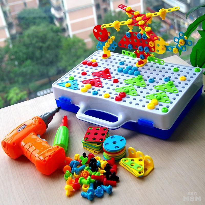 Детский развивающий конструктор Create and Play в Балаково