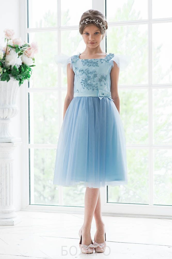 5dd9ca28d95 17.детское нарядное платье модель 303 цвет зеленый короткое 2500+орг